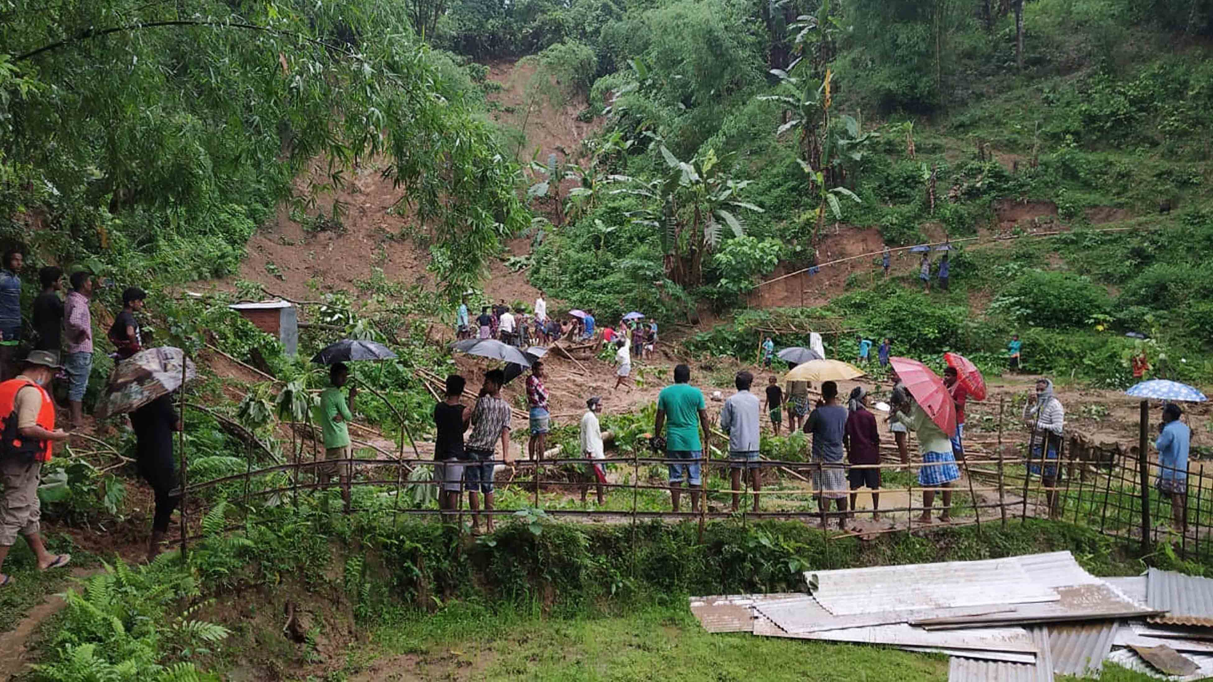 Landslides in Northeast India Kill at Least 20 People