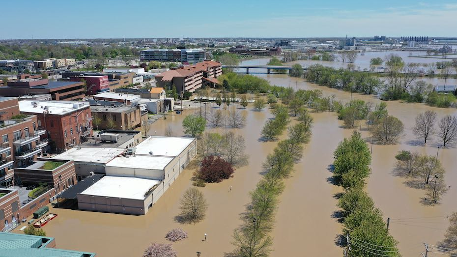 2020 : Tittabawassee and Rifle River Flooding