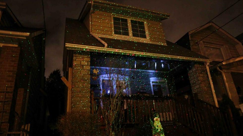 FAA Warns Against Laser Light Decorations