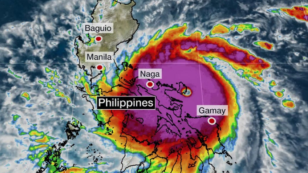 Super Typhoon Goni Now The Strongest Cyclone To Make Landfall Since 2013's Haiyan