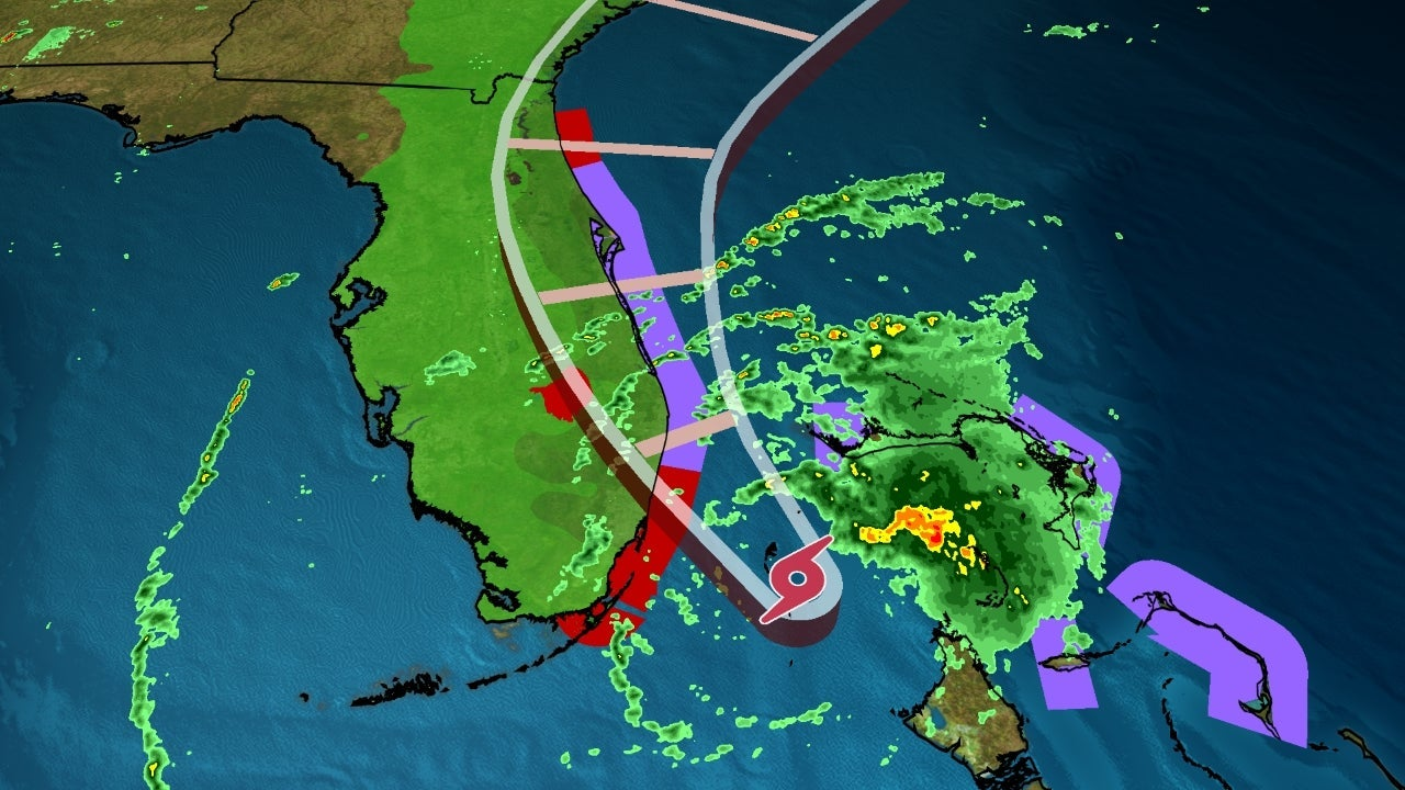 Tropical Storm Isaias Sputtering in Bahamas, Will Approach Florida Overnight, Then Race Up East Coast | The Weather Channel