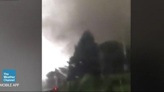 reported tornado damage in venice  italy