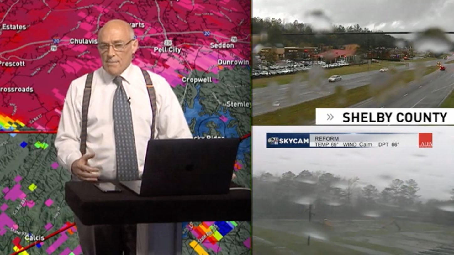 Famed Meteorologist James Spann Stays Live On Air As Tornado Hits His Home   The Weather Channel - Articles from The Weather Channel   weather.com