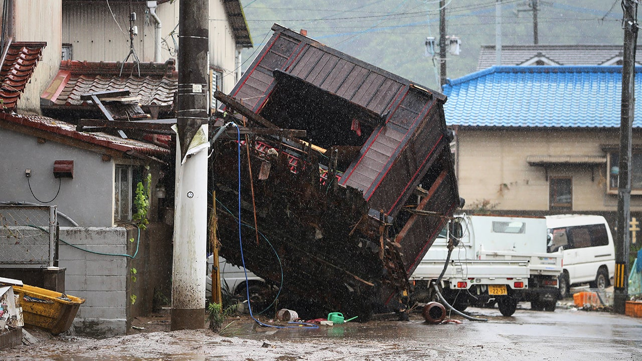 Japan Flooding Kills As Many as 35 People; A Dozen Missing