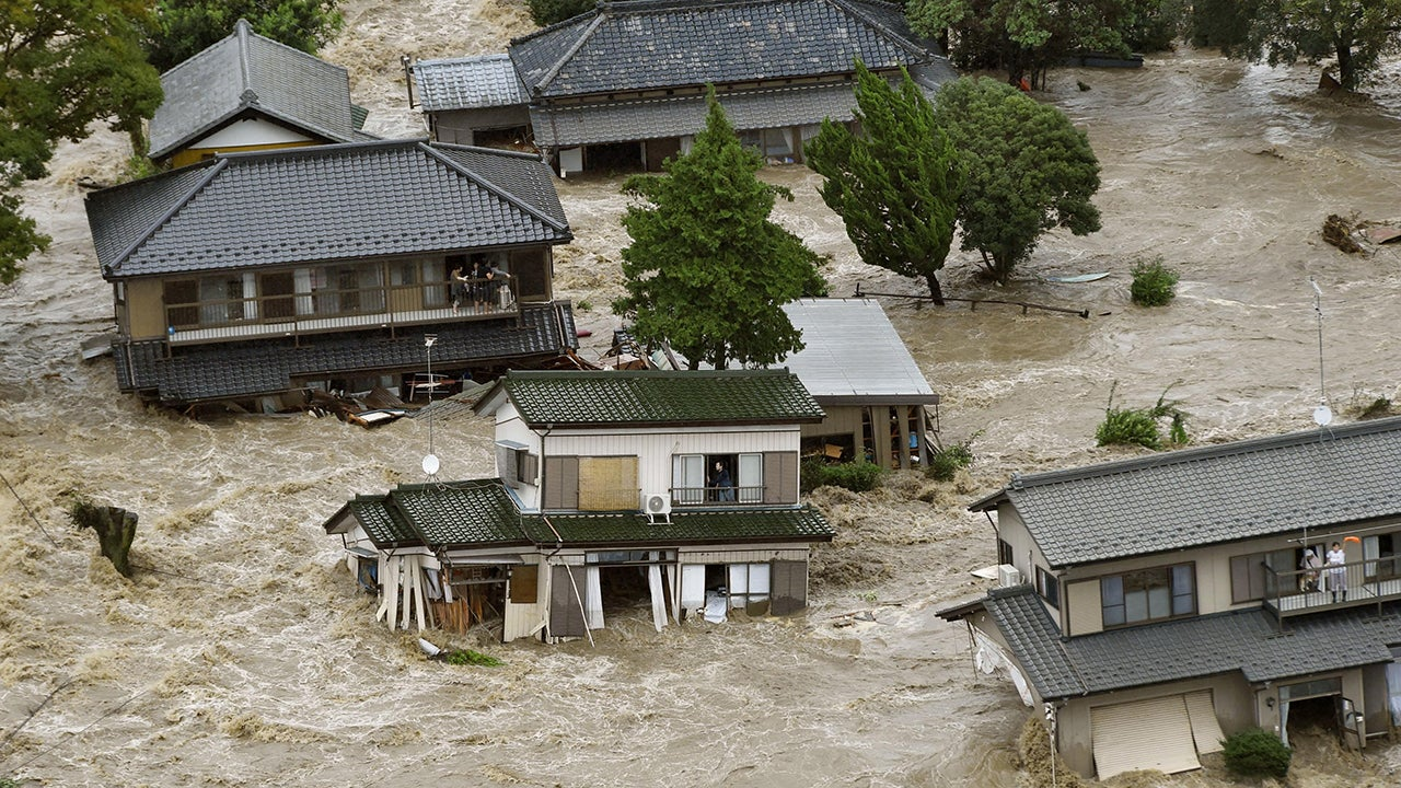 Japan Floods, Landslides: 8 Dead, 46 Injured; Missing ...
