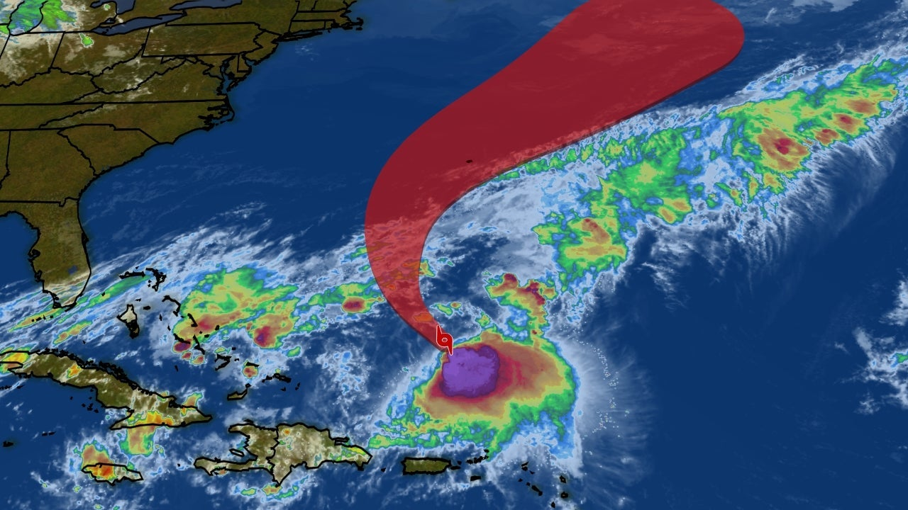 Tropical Storm Jerry Could Move Near Bermuda Next Week as a Hurricane