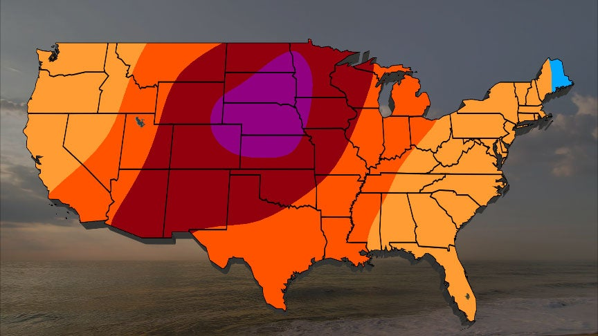 June 2020 Temperature Outlook: Central U.S. Will Feel the Heat