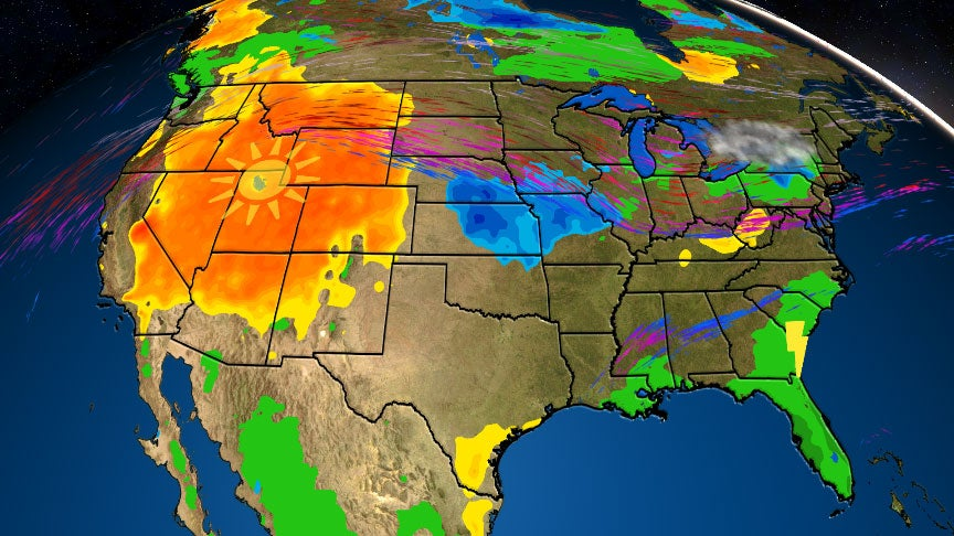 Labor Day Forecast: Watching Dorian in the Southeast, Cool ...