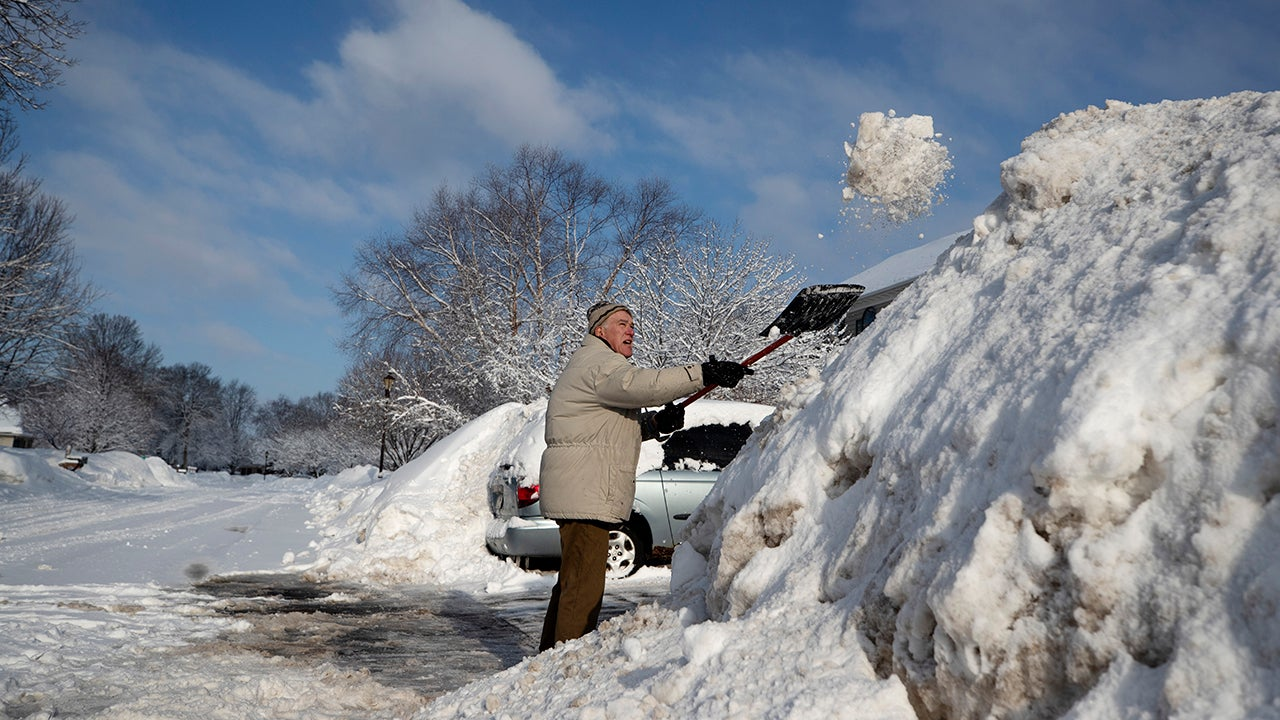 winter storm taylor collapses roofs in north dakota