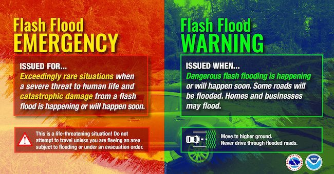 Why You Should Never Ignore a Flash Flood Emergency Issued