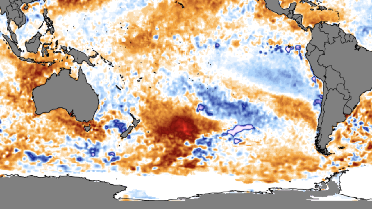 Giant Blob of Warm Water Bigger Than Texas Shows Up off New Zealand | The Weather Channel - Articles from The Weather Channel | weather.com