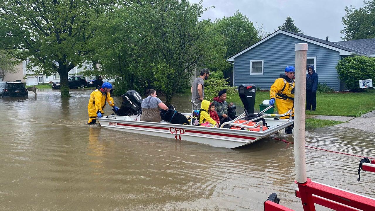Dams Fail in Central Michigan; Evacuations Underway