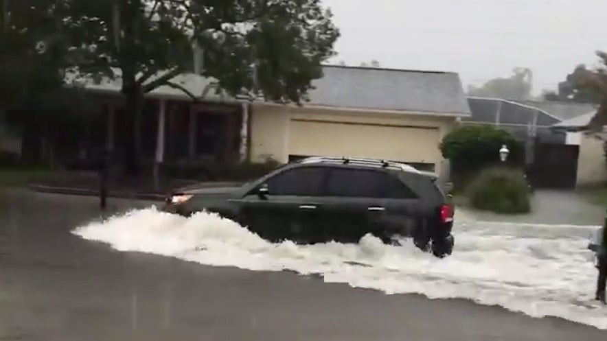 Heavy Rains Douse Central, South Florida; Rescues Reported