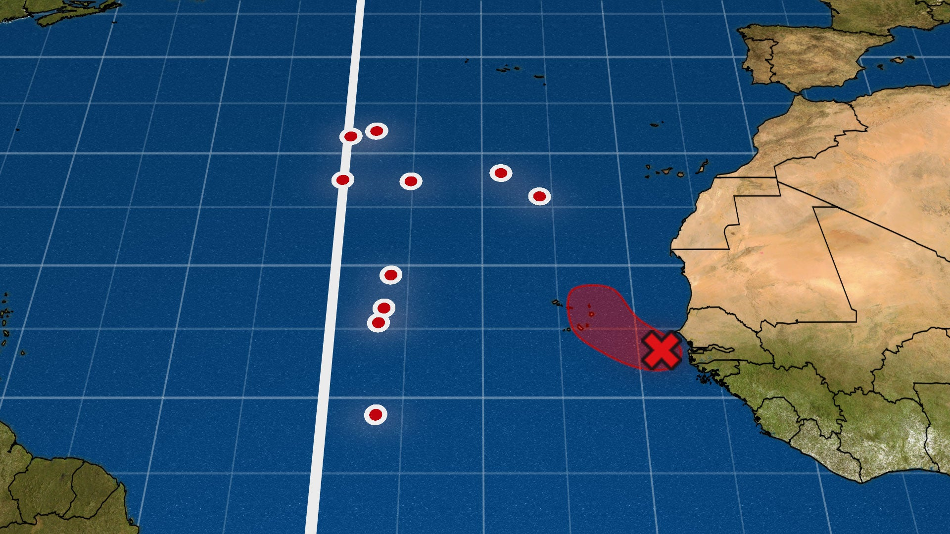 Atlantic Tropical Depression Could Form in a Rare Location for So Late in the Hurricane Season
