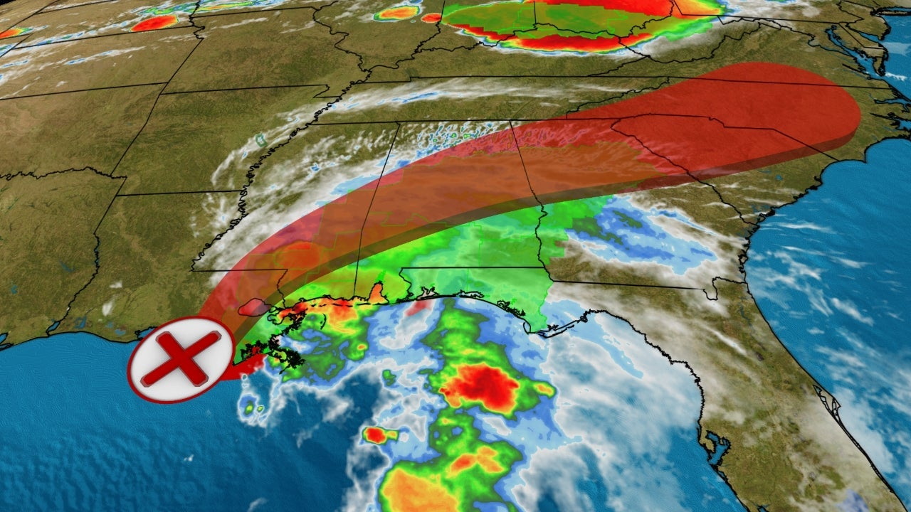 Tropical Storm Claudette Brings Southeast Flash Flood Threat Into Weekend | The Weather Channel - Articles from The Weather Channel | weather.com