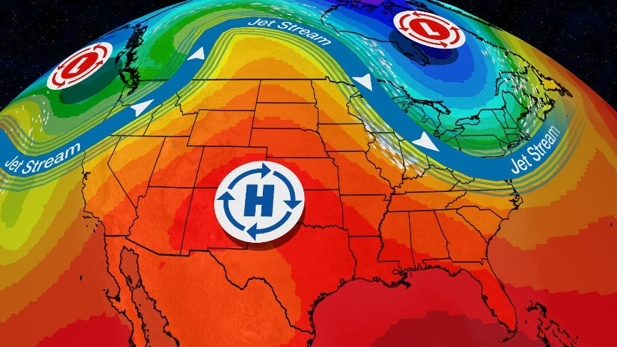 Pattern Change Cools Off the East and West, Heat Up the Plains and Rockies