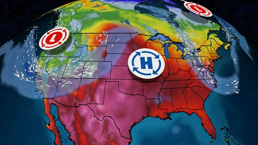 Weekend Pattern Change Ahead: Cooler East, Much Colder West With June Mountain Snow, but Still Hot in Heartland