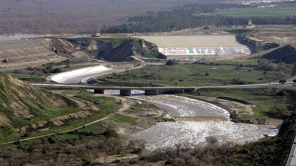 california u0026 39 s prado dam at risk of failure in significant