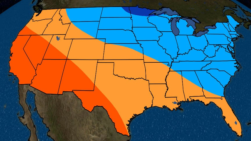 Winter 2019-20 Outlook: Colder Than Average in North, East; Warmer Than  Average in South, West   The Weather Channel