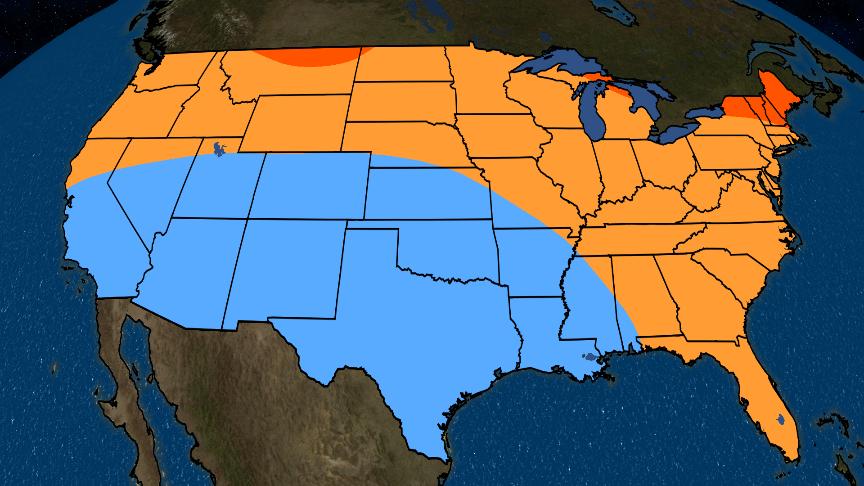 Perspectiva de la primavera 2019: cálido en el norte y este, frío en el sur y oeste