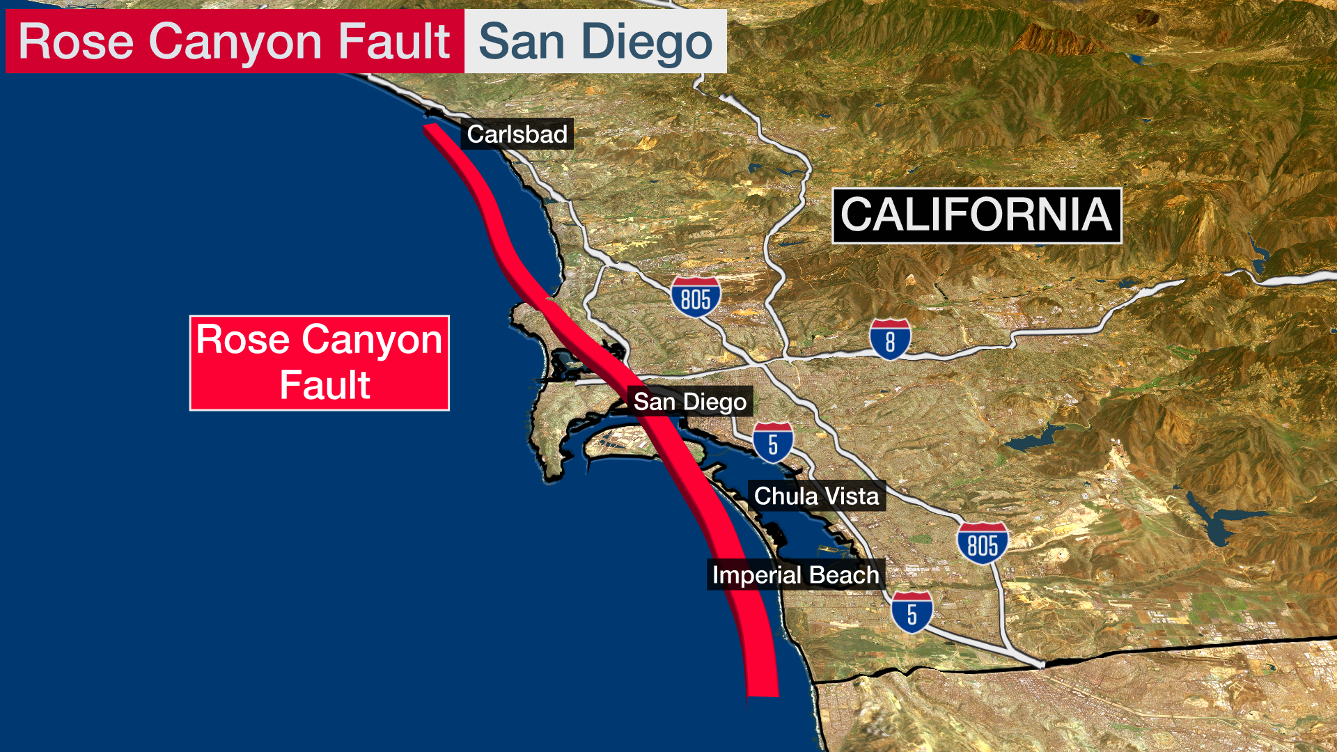 San Diego At Risk For Devastating Earthquake Damage New Report