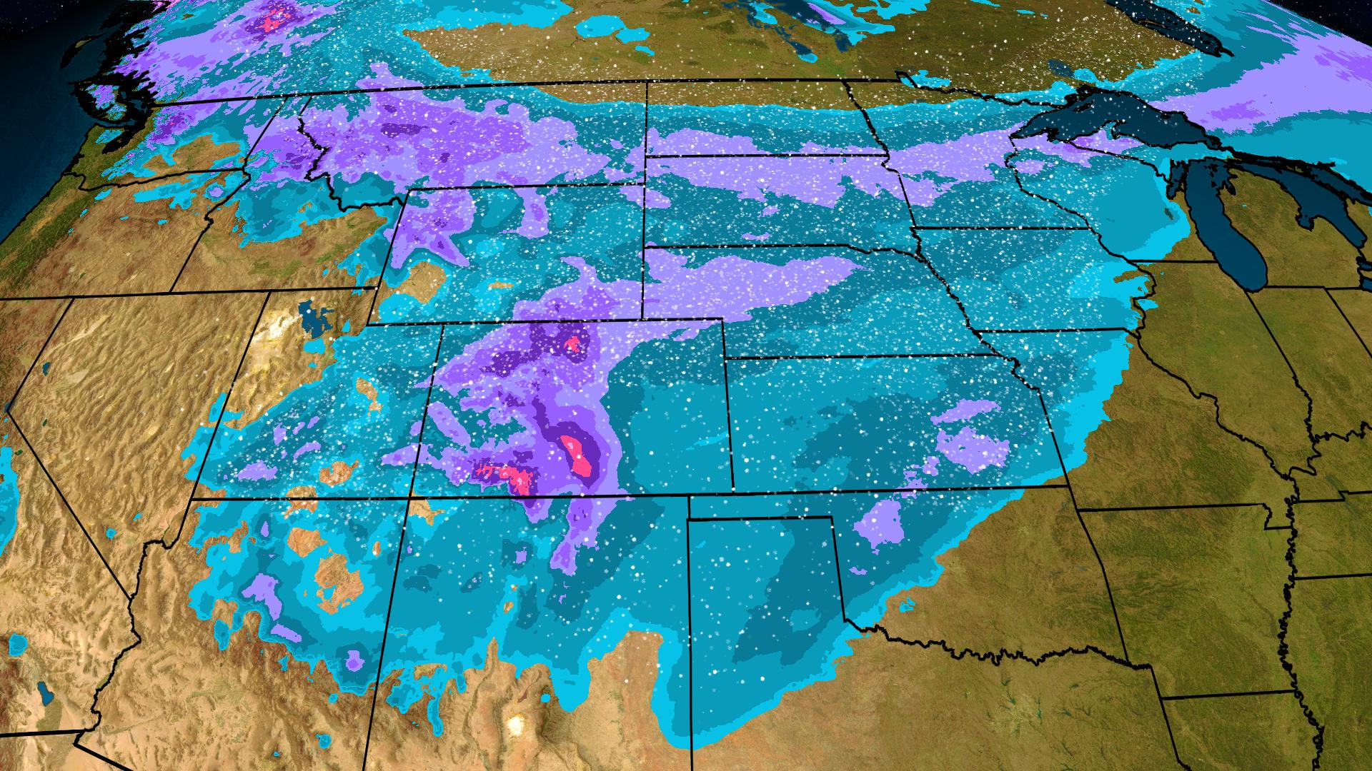 Snow Set to Reach Texas Panhandle