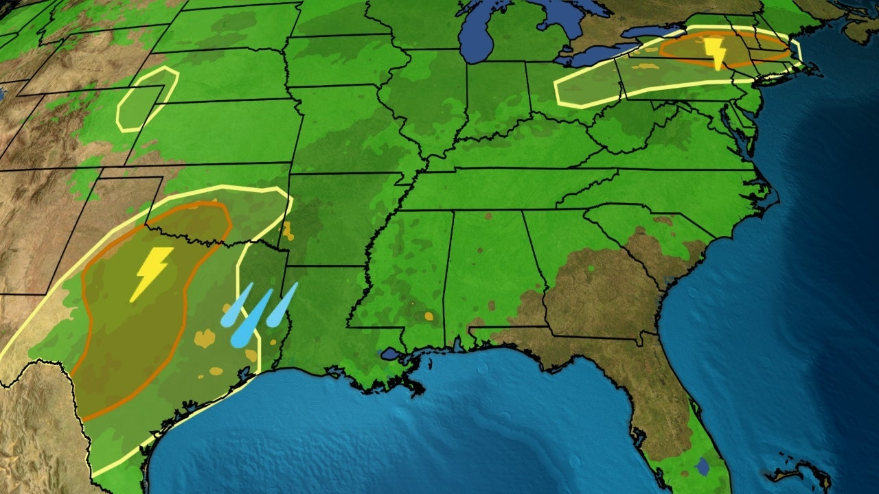 Severe Thunderstorms, Flooding Plagued Parts of the Plains, Midwest and Northeast