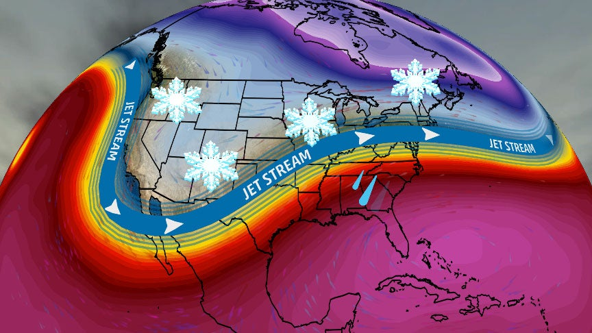 Active Pattern Will Bring Chances for More Snow Into Next Week