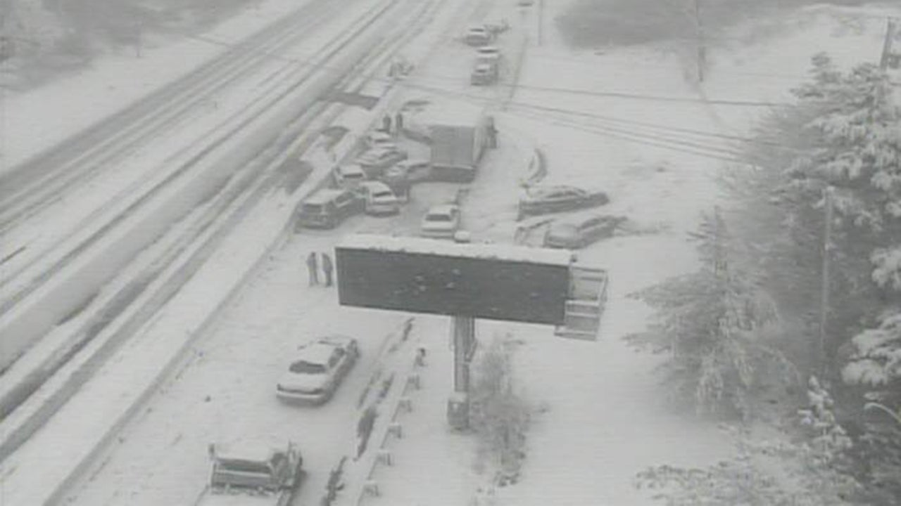 Multiple Pileups Close Ohio Roads as Snow Moves East; Storm Claims at Least Six Lives