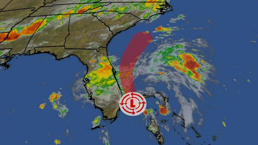 Tropical Depression Three Near South Florida Coast; May ...