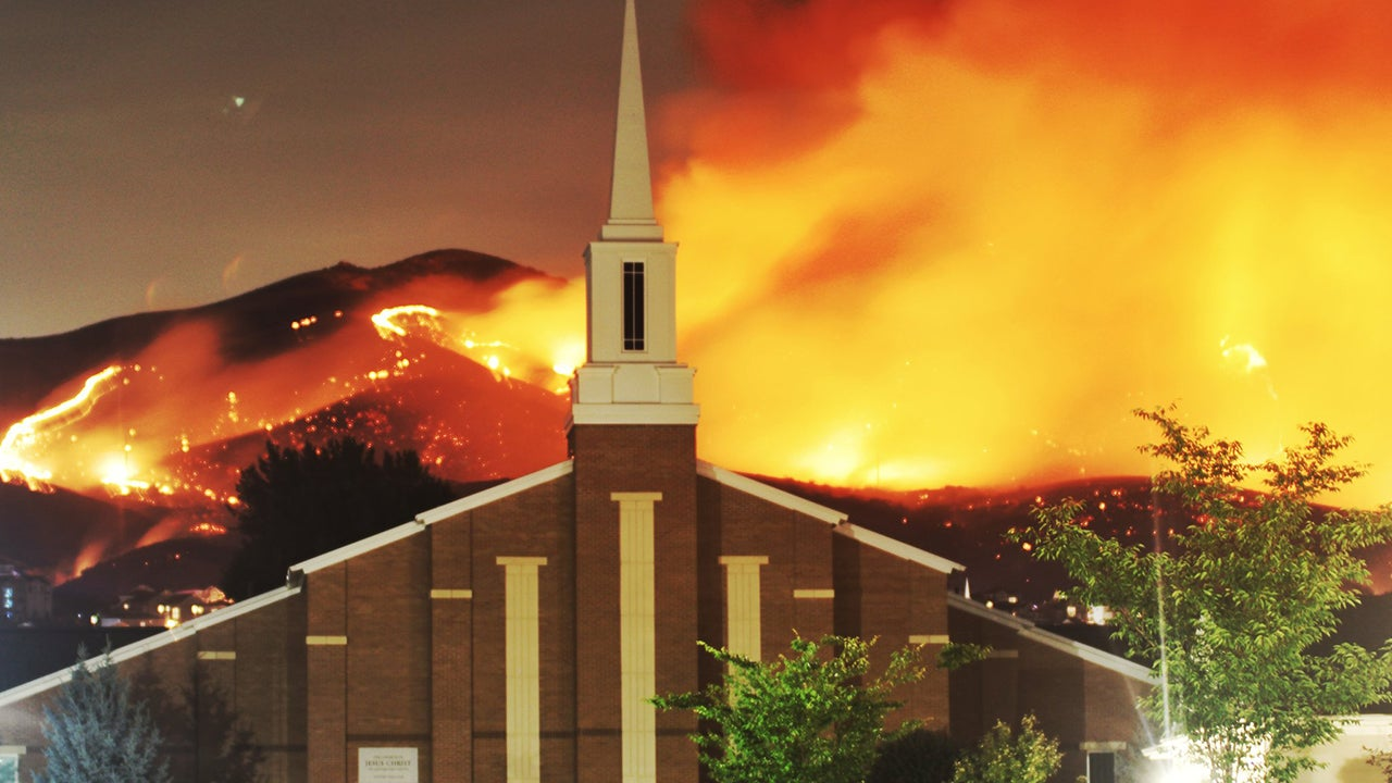 Fireworks Spark Utah Wildfire That Forces 100 People To Leave Their Homes