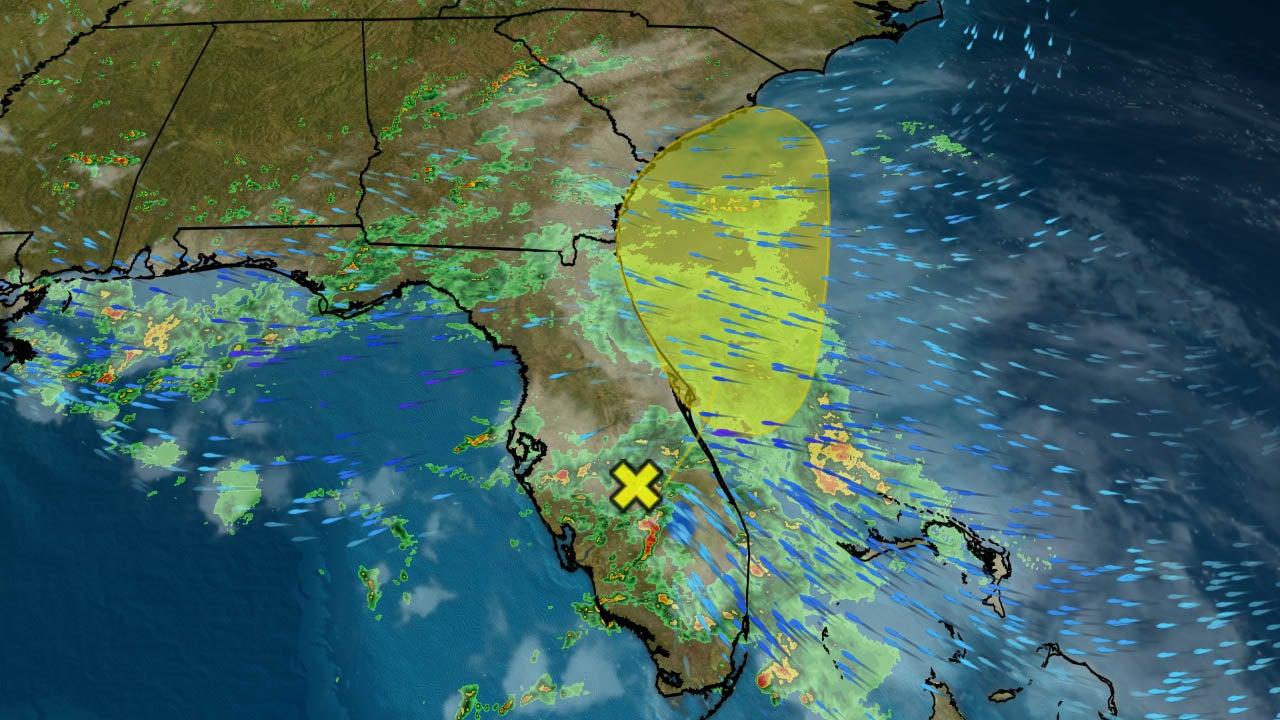 Tropical Disturbance Is Bringing Flooding Rainfall to Florida