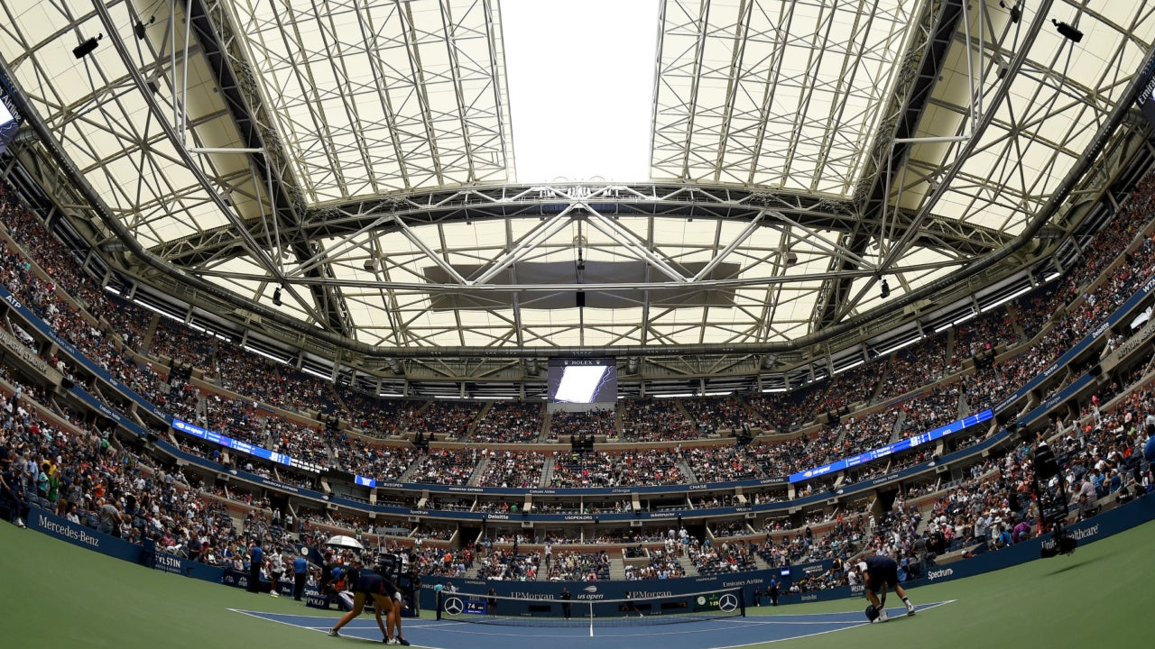 The US Open Roofs' Game of Chance with Weather