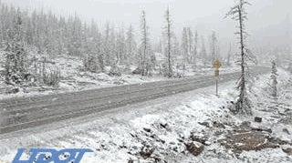 First Snow of the Season Blankets Higher Peaks of Utah, Wyoming, Including Yellowstone and Grand Teton National Parks