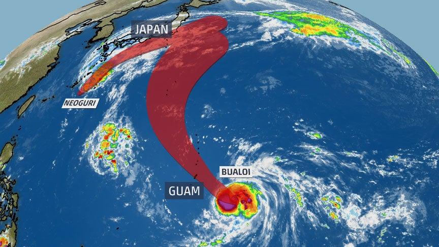 Image result for bualoi typhoon