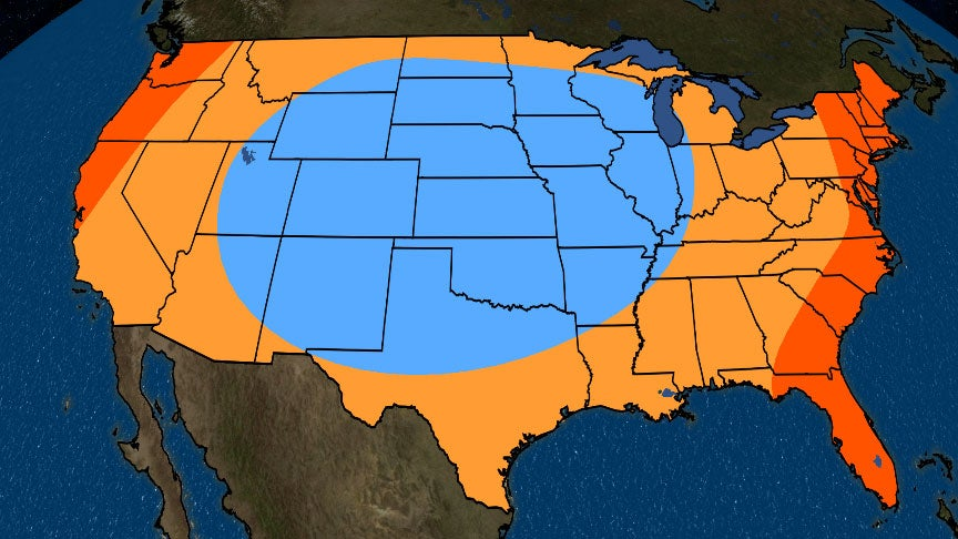 Mid-Summer to Early-Fall Temperatures Are Expected to be ...