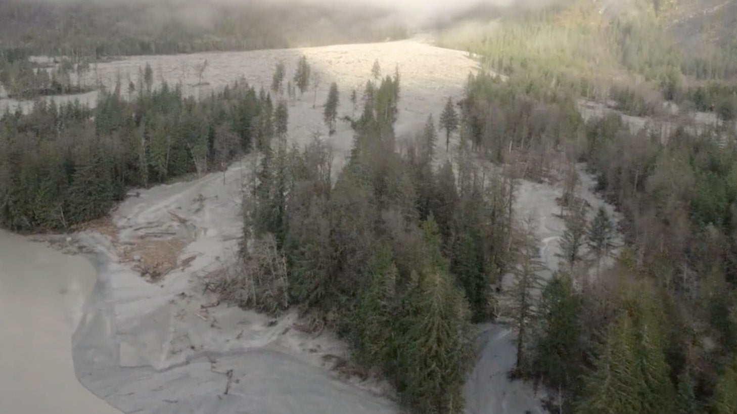 Landslide Cooled Off Waters Warmed By Marine Heat Wave, Scientist Says | The Weather Channel - Articles from The Weather Channel | weather.com