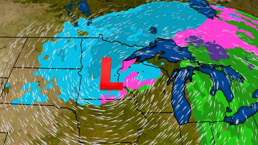 Winter Storm Wesley, an Early April Blizzard and Ice Storm for the Plains and Midwest (RECAP)