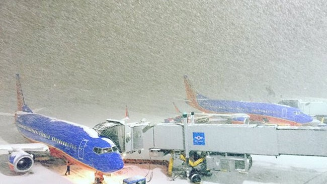 The 10 Most Weather-Delayed Major Airports in the U.S.