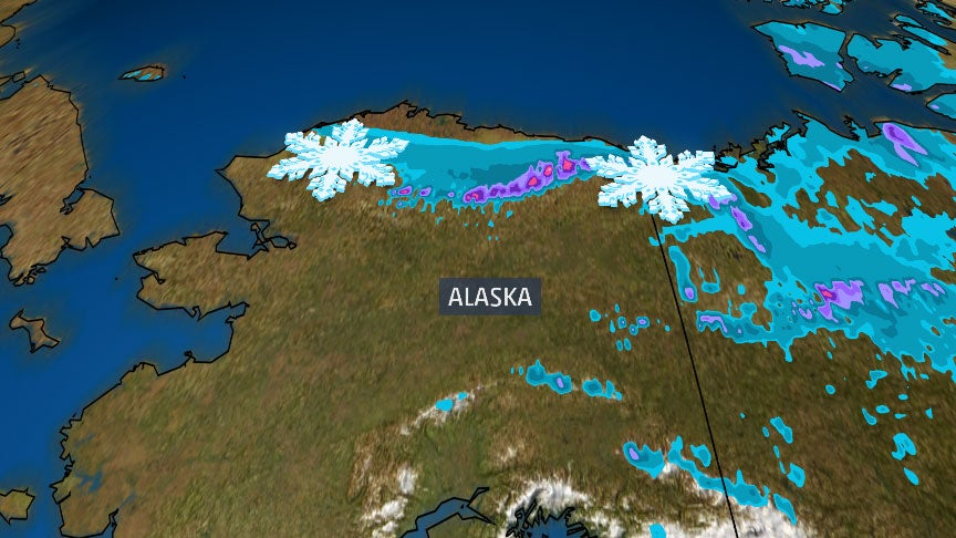 First Winter Storm Warning of the Season Has Been Issued in the U.S. on the Firs...
