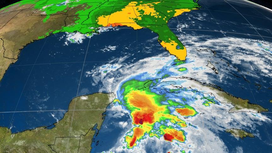 Subtropical Storm Alberto, First Storm of 2018 Atlantic Hurricane Season, Forms ...