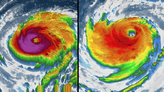 Two Category 4 Eastern Pacific Hurricanes In Four Days
