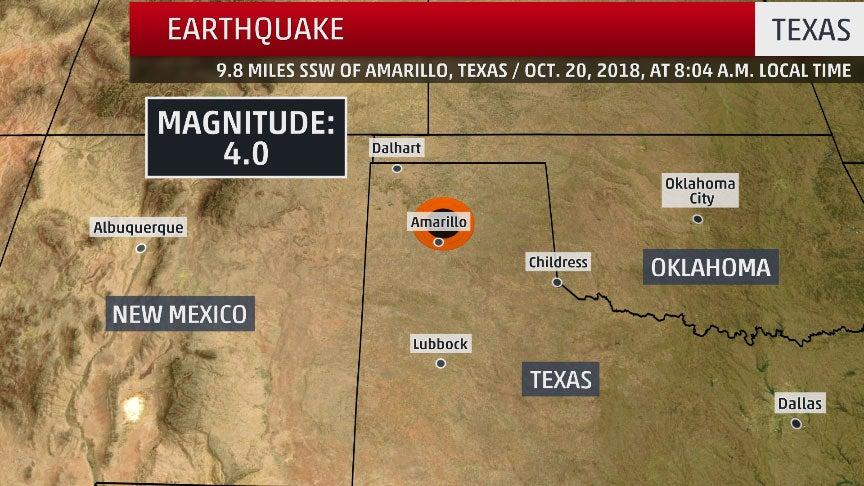 magnitude 4 0 earthquake hits texas panhandle