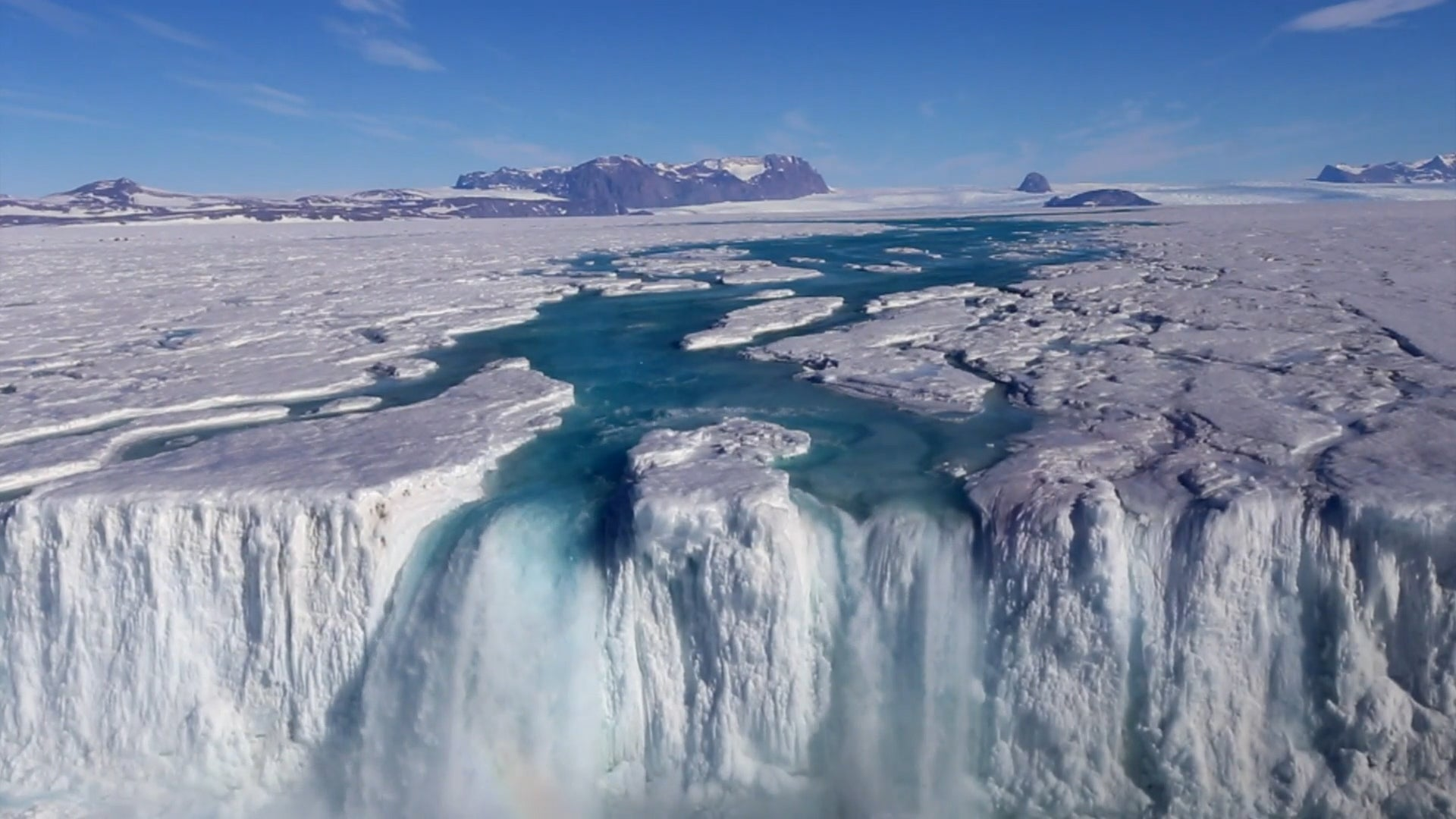Antarctica and Greenland Have Shed Enough Ice to Fill Lake Michigan