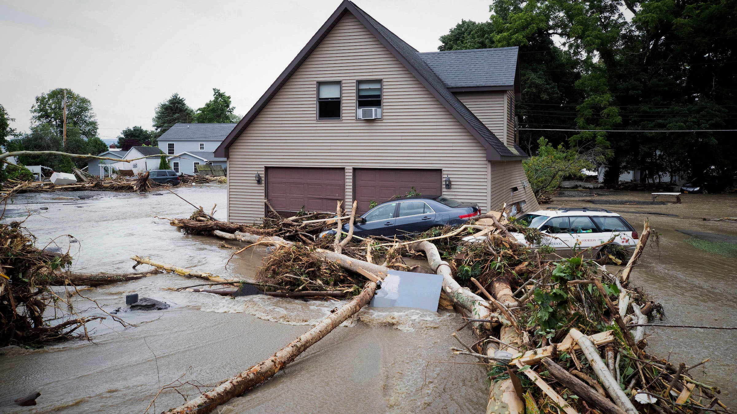 Northeast Floods Prompt More Rescues, Emergency Declaration in New
