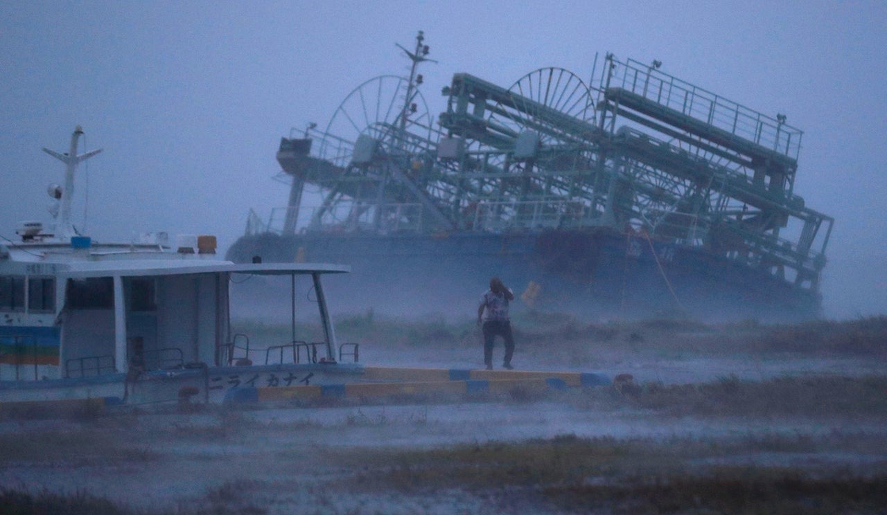 Typhoon Trami Strikes Japan: 4 Killed, Travel Halted