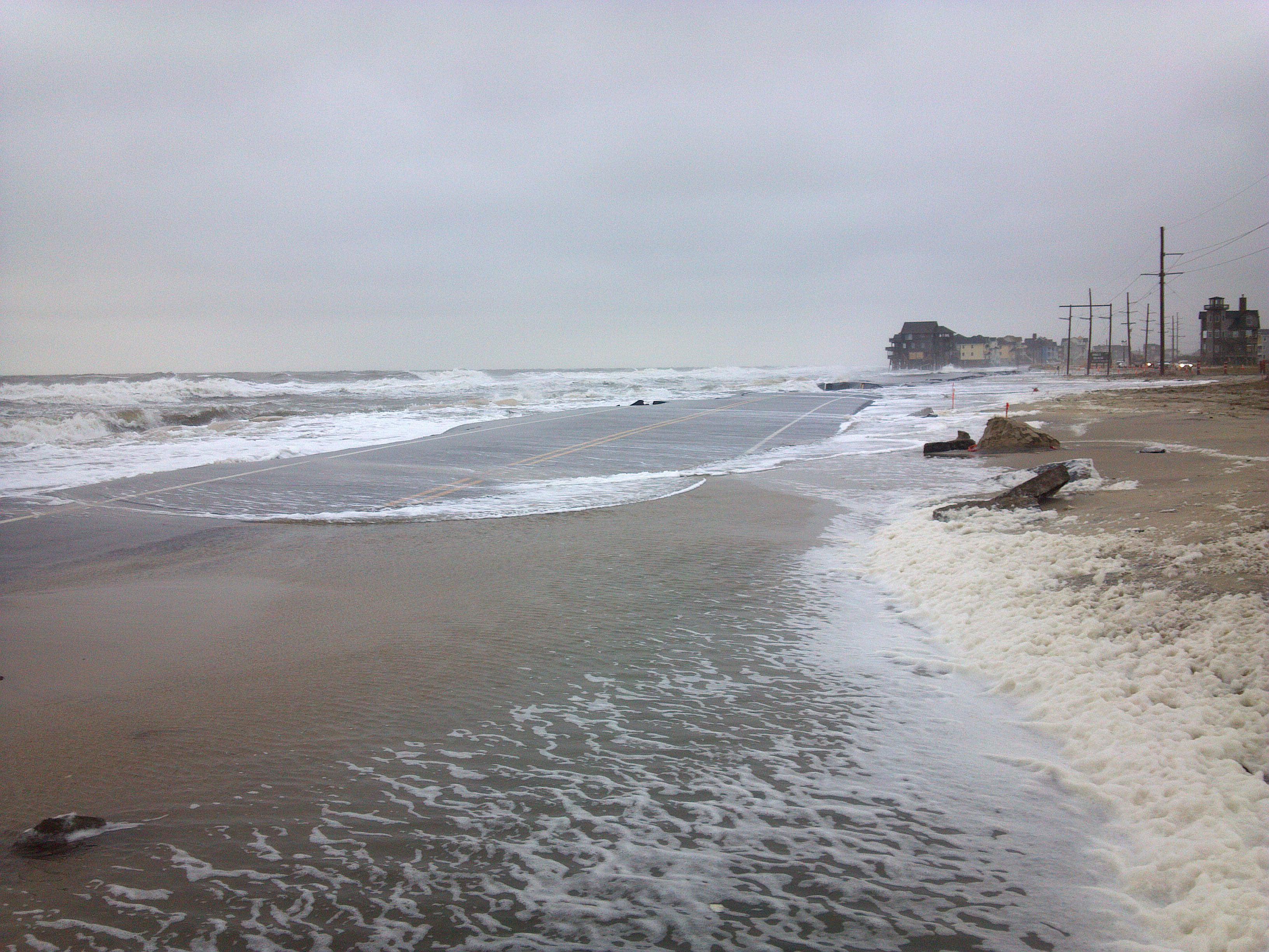 north carolina u0026 39 s outer banks struggle with flooding