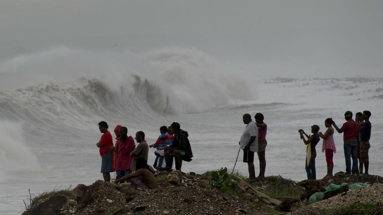 Hurricane Matthew Kills 1 in Haiti