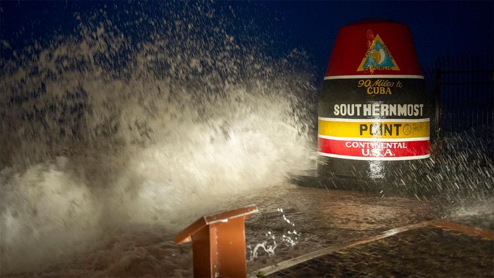 key west  u0026 39 southernmost point u0026 39  buoy reportedly damaged by