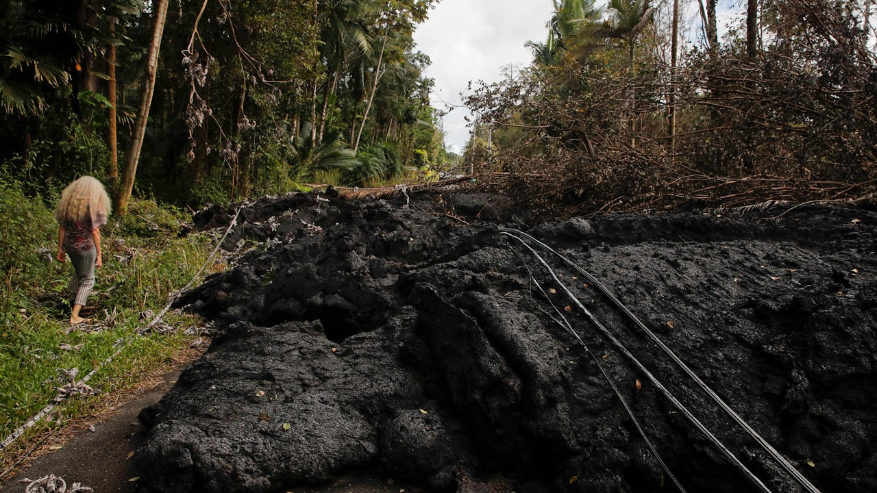 'Lava Bridges' Might Be Key to Keeping Roads Open near Kilauea Volcano